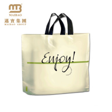 popular high quality printing plastic bag pe ld garment bags plastic
